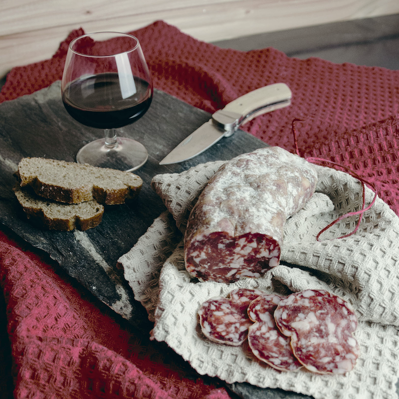 Les saucissons de Corrèze
